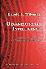 Organizational Intelligence af Harold L. Wilensky