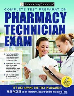 Bog, paperback Pharmacy Technician Exam af Learning Express