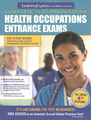 Bog, paperback Health Occupations Entrance Exams