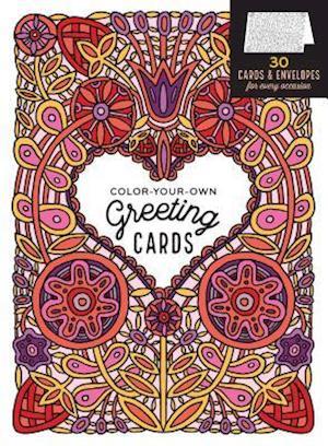 Color-Your-Own Greeting Cards af Caitlin Keegan