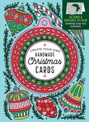 Color-Your-Own Christmas Cards af Caitlin Keegan