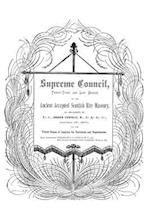 Supreme Council, Thirty-Third and Last Degree af Ferdinand J. S. Gorgas