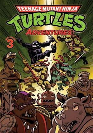Teenage Mutant Ninja Turtles Adventures 3 af Dean Clarrain