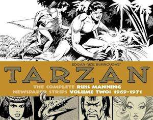 Tarzan: the Complete Russ Manning Newspaper Strips, 1969-1971 2 af Russ Manning
