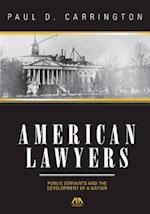 American Lawyers af Paul Carrington