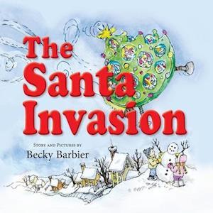 Bog, paperback The Santa Invasion af Becky Barbier