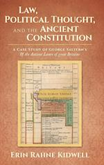 Law, Political Thought, and the Ancient Constitution