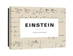 Bog, ukendt format Einstein Notecards af Princeton Architectural Press