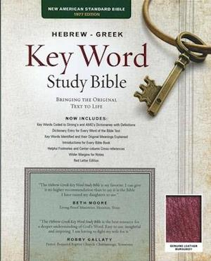 Bog, paperback The Hebrew-greek Key Word Study Bible af Warren Patrick Baker