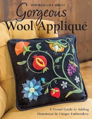 Gorgeous Wool Applique af Deborah Gale Tirico