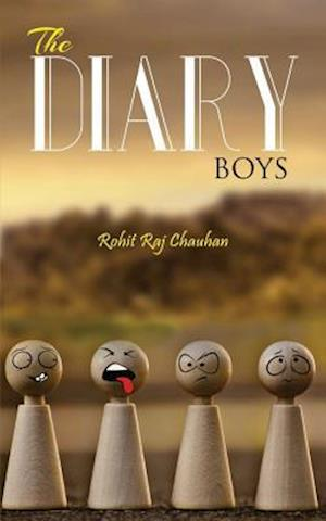 Bog, paperback The Diary Boys af Rohit Raj Chauhan