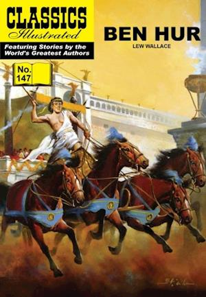Ben Hur (with panel zoom)    - Classics Illustrated af Lew Wallace