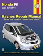 Honda Fit Automotive Repair Manual 2007-13