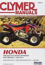 Honda TRX400 EX Fourtrax/Sportrax Clymer Manual