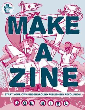 Bog, paperback Make a Zine af Joe Biel
