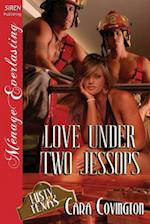Love Under Two Jessops [The Lusty, Texas Collection] (Siren Publishing Menage Everlasting) af Cara Covington