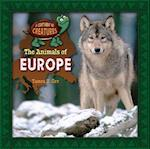 The Animals of Europe (Continent of Creatures 7 Volume Set New 2016)