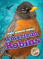 American Robins (North American Animals, nr. 28)