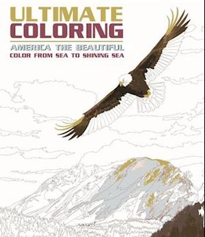 Ultimate Coloring America the Beautiful af Editors Of Portable Press