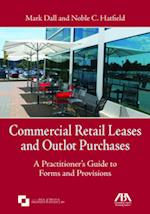Commercial Retail Leases and Outlot Purchases
