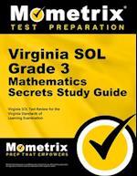 Virginia SOL Grade 3 Mathematics Secrets (Mometrix Secrets Study Guides)