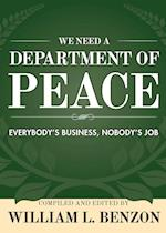 We Need a Department of Peace