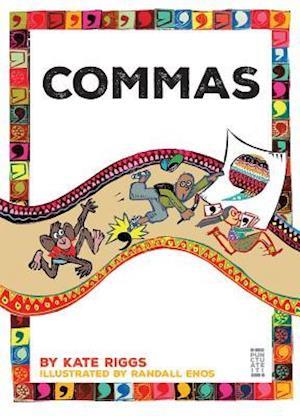 Bog, paperback Commas af Kate Riggs