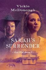 Sarah's Surrender (Land Rush Dreams)