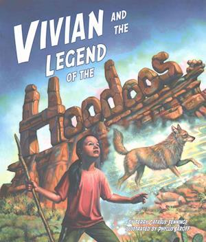 Bog, paperback Vivian and the Legend of the Hoodoos af Terry Catass Jennings
