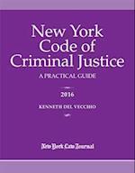 New York Code of Criminal Justice 2016