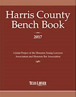 Harris County Bench Book 2017