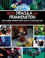 Brick Dracula and Frankenstein af Amanda Brack