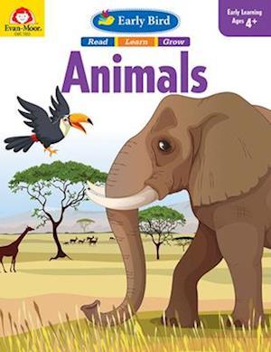 Bog, paperback Early Bird Animals af Evan-Moor Educational Publishers