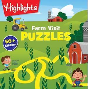 Bog, paperback Farm Visit af Highlights