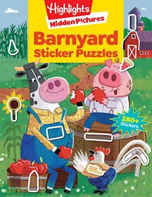 Bog, paperback Barnyard Puzzles af Highlights