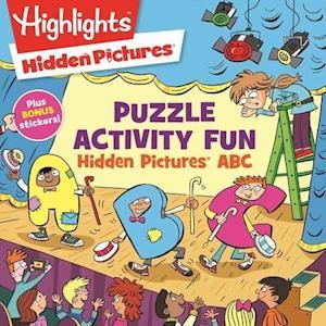 Bog, paperback Hidden Pictures ABC af Highlights