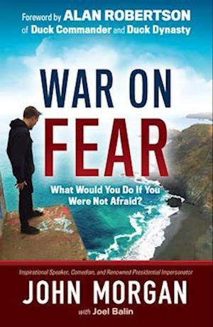 Bog, hardback War on Fear af John Morgan