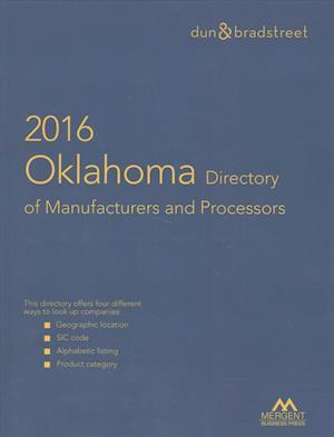Bog, paperback Harris Oklahoma Directory of Manufacturers & Processors 2016 af Mergent