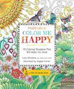 Portable Color Me Happy Adult Coloring Book (Color Me)