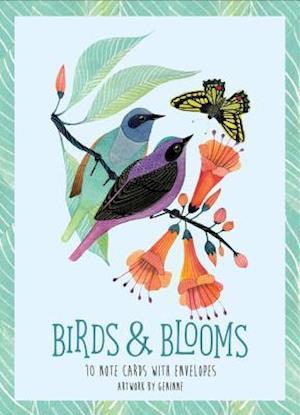 Bog, ukendt format Birds + Blooms Artwork by Geninne