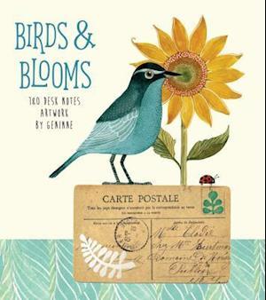 Bog, ukendt format Birds & Blooms 180 Desk Notes