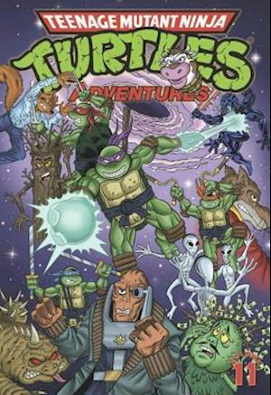 Teenage Mutant Ninja Turtles Adventures 11 af Dean Clarrain