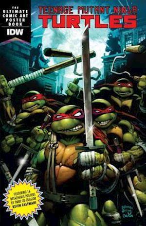 Bog, paperback Teenage Mutant Ninja Turtles Comic Art Poster Book af None