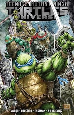 Bog, paperback Teenage Mutant Ninja Turtles Universe, Vol. 1 af Tom Waltz, Kevin Eastman, Paul Allor