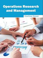 Operations Research and Management