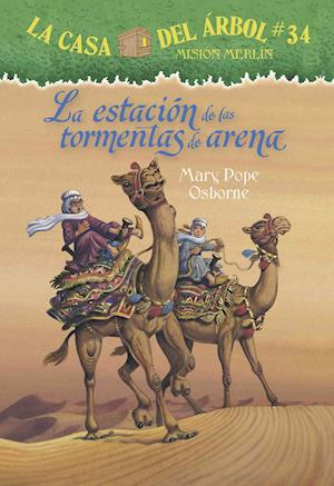Bog, paperback La Estacion de Las Tormentas de Arena af Mary Pope Osborne