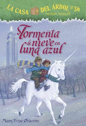 Bog, paperback Tormenta de Nieve En Luna Azul af Mary Pope Osborne