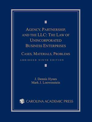 Bog, paperback Agency, Partnership, and the Llc af Dennis J. Hynes