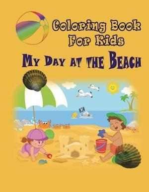 My Day at the Beach - Coloring Book af Marshall Koontz