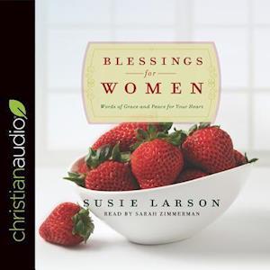 Lydbog, CD Blessings for Women af Susie Larson